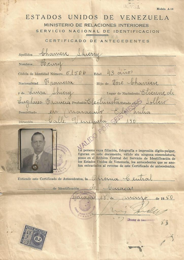 certificat-venezuelien-recto