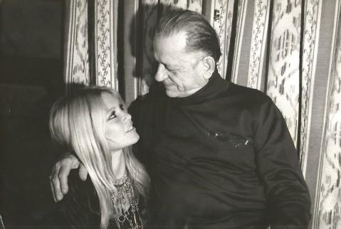 H. Charrière et Brigitte Bardot