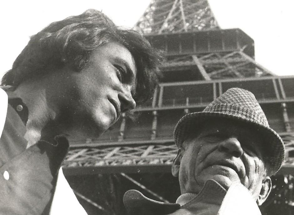 H. Charrière et Johnny Hallyday