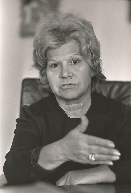 Portrait de Rita.