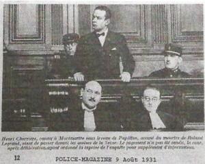 H. Charrière à son procès.