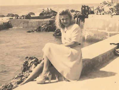Rita jeune au Maroc
