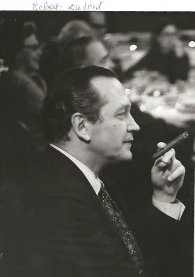 Portrait de l'éditeur Robert Laffont.