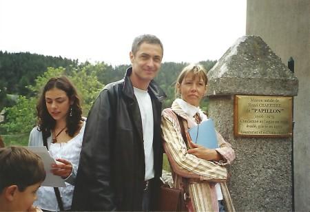 Vincent, Nathalie, Mathilde et Béranger Didier.